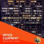 office equipment moving and storage